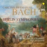 CARL PHILIPP EMANUEL BACH: BERLIN SYPHONIES
